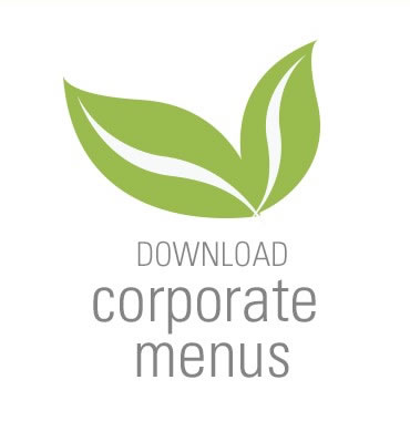 Creative Catering San Diego Corporate Menu